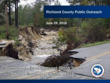 Richland County Public Outreach