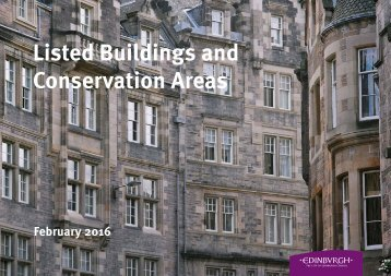 Listed Buildings and Conservation Areas