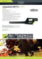 Greenworks tools - Akkutoimiset pihatyökalut  2015 IKH - Page 4