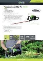 Greenworks tools - Akkutoimiset pihatyökalut  2015 IKH - Page 5