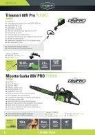 Greenworks tools - Akkutoimiset pihatyökalut  2015 IKH - Page 6