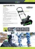 Greenworks tools - Akkutoimiset pihatyökalut  2015 IKH - Page 7
