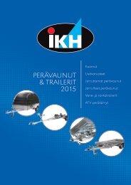 Perakarryt ja trailerit 2015 IKH