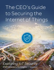 The CEO's Guide to Securing the Internet of Things
