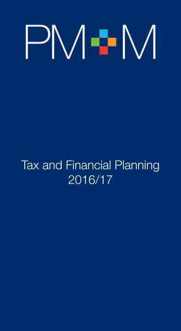 Tax and Financial Planning 2016/17