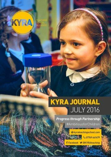 KYRA JOURNAL JULY 2016