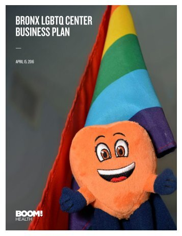 BRONX LGBTQ CENTER BUSINESS PLAN
