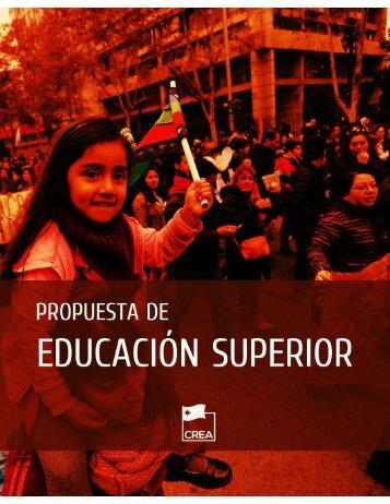 REFORMA EDUCACIÓN SUPERIOR