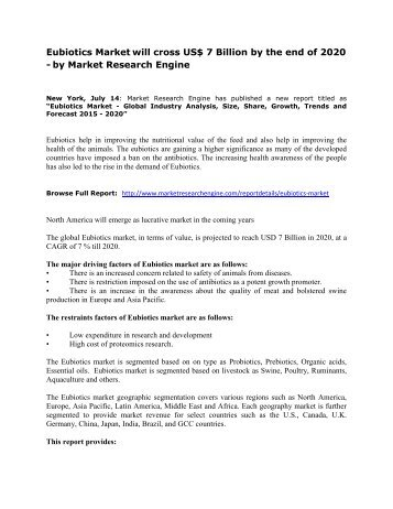 Eubiotics_Market_will_cross_US$_7_Billion_by_the_end_of_2020_-_by_Market_Research_Engine