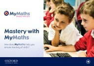Mastery with MyMaths