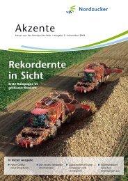 neue Strukturen - Nordzucker AG