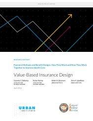 Value-Based Insurance Design