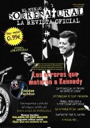 El Mundo Sobrenatural Julio 2016 - Los errores que mataron a Kennedy