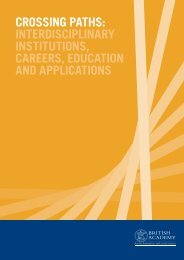 CROSSING PATHS INTERDISCIPLINARY INSTITUTIONS CAREERS EDUCATION AND APPLICATIONS