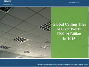 Ceiling Tiles Market Report 2016-2021