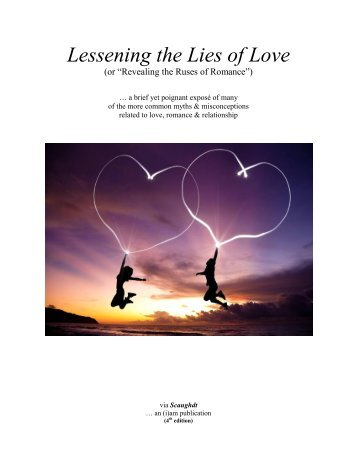 Lessening the Lies of LOVE (4th edition)