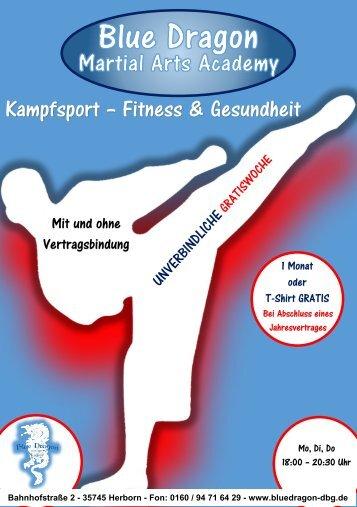 Kampfsport, Fitness & Gesundheit
