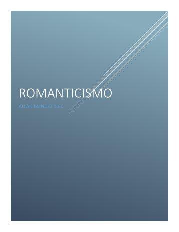 Romanticismo Allan Mendez