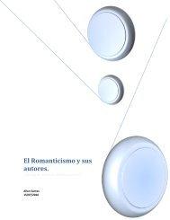 El Romanticismo y sus autores