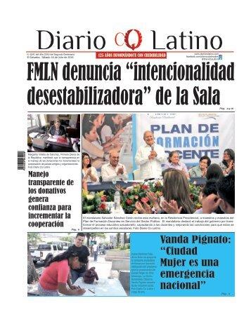 Edición 16 de Julio de 2016