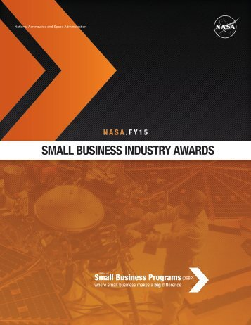 SMALL BUSINESS INDUSTRY AWARDS