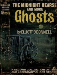The Midnight Hearse and other Ghosts