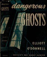 Dangerous Ghosts