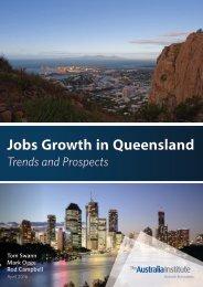Jobs Growth in Queensland