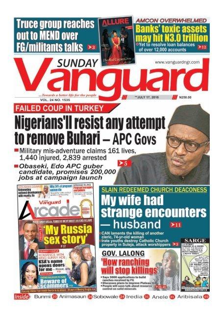 Nigerians'll resist any attempt to remove Buhari - APC Govs