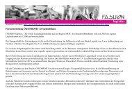 Pressemitteilung ÖKOPROFIT Zwischenbilanz - Fashion Logistics
