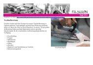 Textilaufbereitung - Fashion Logistics