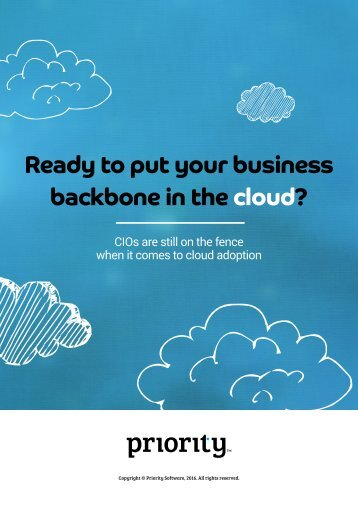 backbone in the cloud?
