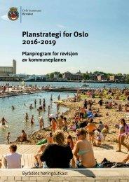 Planstrategi for Oslo 2016-2019