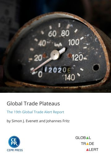 Global Trade Plateaus