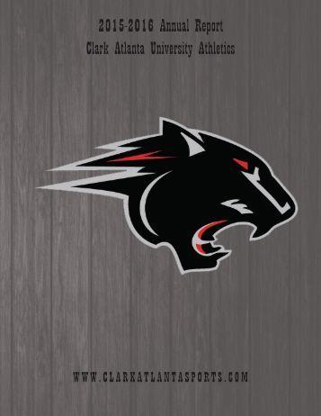 2015-2016 Annual Report Clark Atlanta University Athletics