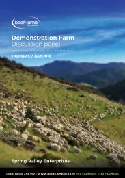 Demonstration Farm Discussion panel