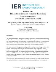 BEFORE HOUSE COMMITTEE NATURAL RESOURCES SUBCOMMITTEE OVERSIGHT INVESTIGATIONS