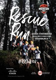 Saturday 19 November 2016 rescuerun.org.nz