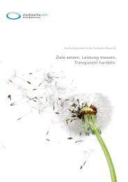 Nachhaltigkeitsbericht Stadtwerke Brixen AG (2013-2015)