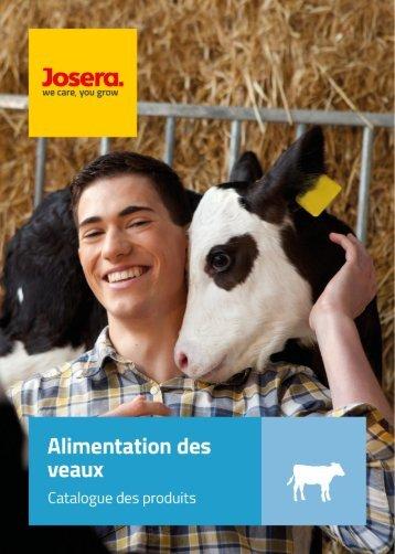 Catalogue Alimentation des Veaux