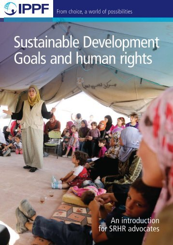 Sustainable Development Goals and human rights