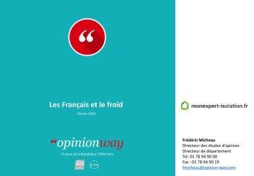 Les Français et le froid