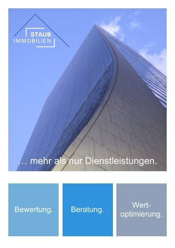 Präsentation STAUB IMMOBILIEN GmbH