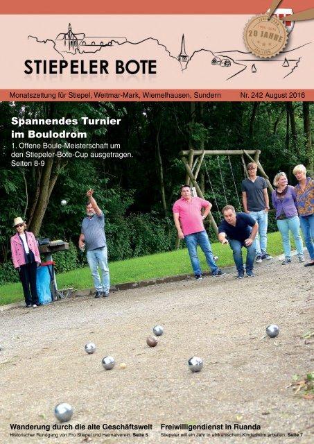 Stiepeler Bote 242 - August 2016