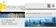 10. Oktober 2012 Messe München Halle A1 - muenchen-exporeal.de