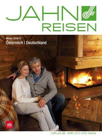 JAHN Reisen Austria Winter 2016/17  - Österreich   Deutschland
