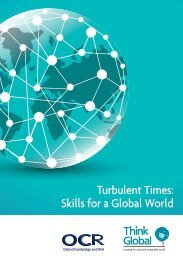 Turbulent Times Skills for a Global World