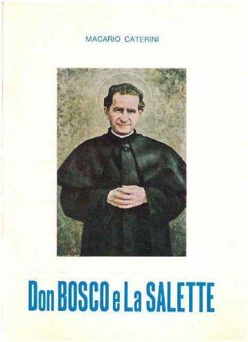 DON BOSCO E LA SALETTE