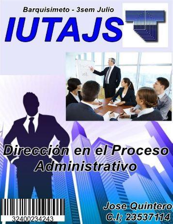 Dirección en el Proceso Administrativo.