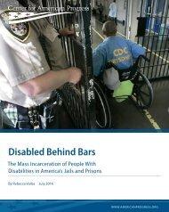 Disabled Behind Bars